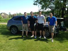 Meade Lexus of Lakeside in the #Utica #Sterling Heights area was a proud sponsor of the first-ever Matt Dery #Golf Outing at Twin Lakes Golf and Swim Club in Rochester Hills. This June 9th, 2014 event, presented by #DetroitSports 105.1, benefited the #TedLindseyFoundation to support research and educational programs related to #Autism Spectrum Disorders.  Thank you to everyone who joined us in supporting this great cause! (Photographed with the 2015 #Lexus RX350 #FSport.)