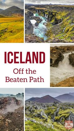 Iceland Travel Guide - Discover amazing locations off the beaten path in Iceland - Get away from the crowds to see the beauty of Nature | #iceland #iceland travel #inspiredbyiceland | Iceland itinerary | Iceland things to do | Iceland road trip