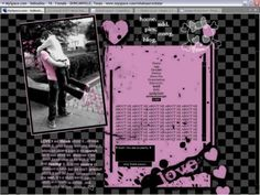 your Myspace ~edgy~ by giving it a layout of only pink and black skulls and hearts. Making your Myspace ~edgy~ by giving it a layout of only pink and black skulls and hearts. Scene Kids, Emo Scene, Princesa Emo, Emo Princess, Goth Aesthetic, Aesthetic Yellow, Rainbow Aesthetic, Rawr Xd, Cybergoth