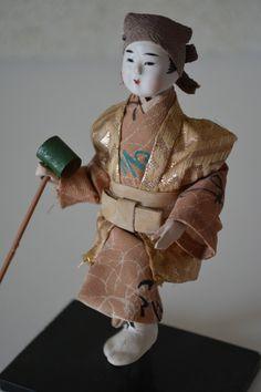 Vintage Japanese folk craft doll, mingei folk craft doll by StyledinJapan on Etsy