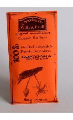 BIO Hořká čokoláda Guatemala 100%. Využijte naší dopravy zdarma při nákupu  nad 890 Kč nebo výdejního místa v Praze zdarma. The 100, The Originals