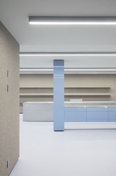 Creative Lighting Design Inspiration linear lines in retail store design Latex Foam and Memory Foam Bar Interior, Interior Decorating, Retail Interior, Aarhus, Store Window Displays, Retail Displays, Shop Displays, Retail Store Design, Retail Stores
