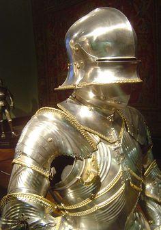 ca. 1484 - 'armour for Archduke Sigismund von Tirol' (Lorenz Helmschmid), Augsburg, Kunsthistorisches Museum Wien, Austria