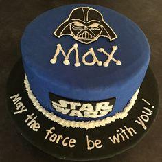 Darth Vader cake for my Star Wars junkie!