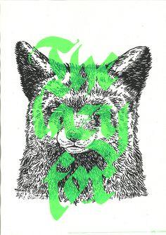 The Lazy Fox On Behance  -  Buamai, Where Inspiration Starts.