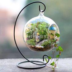 Crochet-Metal-de-Vase-Suspendu-Support-Plante-Fleur-Decoration-Jardin