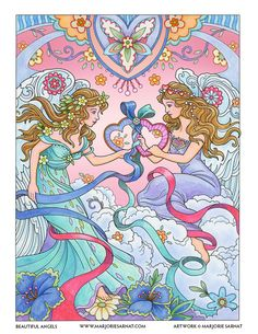 Friendship Angels – it's for friends, sisters, and mothers & daughters — women appreciating each other and our special bonds.