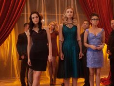 from Vampire Academy Movie : Blood Sister, Zoey Deutch (Rose) & Lucy Fry (Lissa)
