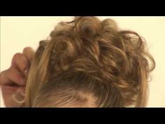 Patrick Cameron Hairdresser Lady Gaga updo - How to DVD - YouTube