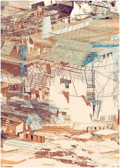Scaffolding II by Atelier Olschinsky