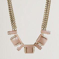 Resin colorblock necklace - necklaces - Women's jewelry - J.Crew