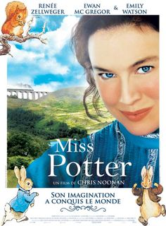 'Miss Potter' (2006) -A wonderful movie about an original, self-sufficient and incredible woman. Beatrix Potter was a success with her children books and is a great inspiration for me.