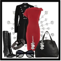 """Silver Style"" by jacque-reid on Polyvore"