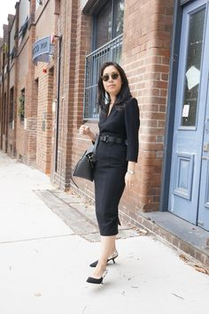 What to Wear for Your First Day of a New Job - whatveewore Reiss Dresses, Capsule Wardrobe, Wardrobe Ideas, First Day Of Work, Office Fashion, Karen Millen, Office Outfits, Dress Codes, Get Dressed