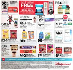 Walgreens Black Friday 2018 Ads and Deals Browse the Walgreens Black Friday 2018 ad scan and the complete product by product sales listing. Walgreens Coupons, Black Friday News, Bright Skin, Loreal, Skin Care, Ads, Skincare, Skin Treatments