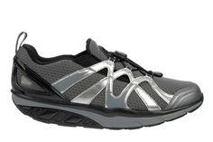 MBT Simba Slip On 5 Black / Steel / Silver – Men's Shoes