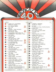 Radar Love, Verona, Christian Anders, Whiskey In The Jar, Im Gonna Love You, The Doobie Brothers, The Osmonds, 70s Music, Music Charts