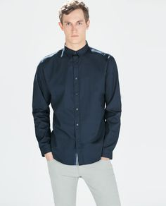 Cyprian or Simon depeds on suit colors POPLIN SHIRT