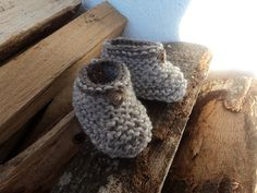 Ravelry: Easiest & fastest baby booties ever! pattern by A la Sascha