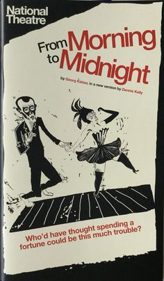 From Morning to Midnight, by Georg Kaiser, Lyttelton Theatre. Jan 2014