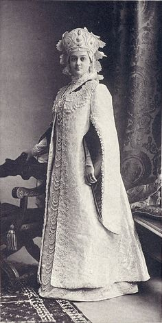 Madame Nadezhda Ilyichna Denisova at the Winter Palace Costume Ball of 1903.....089 by klimbims on deviantART
