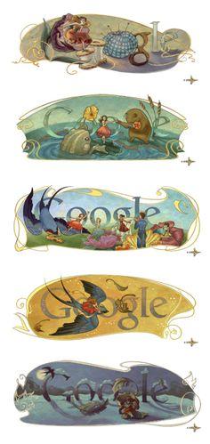 hans christian andersen's thumbelina (google)