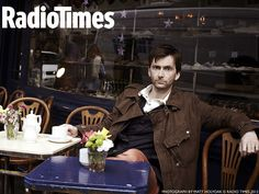 David Tennant: exclusive Radio Times desktop wallpaper