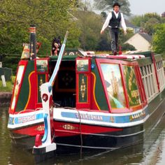 Canal boat or Dutch Barge to travel the canals of England and Wales.... Always been a dream.