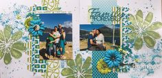 Summer Beach Layout by Moira is part of Scrapbook Layout Beach Paper - Moira Gilowey created this beautiful Summer Beach Layout using a combination of Ooh La Limited and Basic Essentials scrapbooking papers Beach Scrapbook Layouts, Scrapbook Albums, Scrapbooking Layouts, Scrapbook Paper, Beach Trip, Summer Beach, Beach Themes, Pattern Paper, Knit Crochet