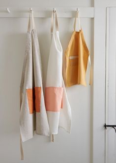 Adjustable Aprons in Daily Linen | Purl Soho