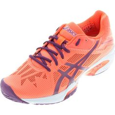 cheaper d3675 b8b4c Shop the ASICS Women s Gel-Solution Speed 3 Tennis Shoes at Tennis Express  today! Features the best in lightweight performance technology while  offering ...