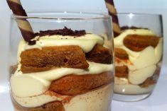 Tiramisu' Cups, one of my very favorite desserts ! Tiramisu Cups, Easy Tiramisu Recipe, Best Dessert Recipes, Sweet Recipes, Cake Recipes, Hungarian Recipes, Irish Recipes, Desserts In A Glass, Just Desserts