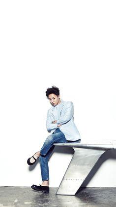 Kwon Jiyong ( G-Dragon) LINE DECO BIGBANG Welcoming Collection 2015 Wallpapers