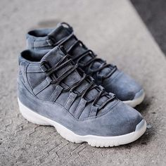 "What are your thoughts on the Air Jordan 11 ""Suede""? Release details to come on SneakerNews.com. #sneakerfiend #sneakerheads #followback #sneakeraddict #sneakers"