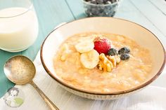 A stupid easy Grain-free Banana and Cream Oatmeal Reicpe
