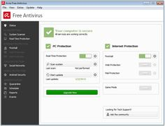 14 Best Free Antivirus Programs to Protect Your PC: Avira Free Antivirus