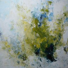 40x40  abstract original painting palette knife large art XL on Etsy, $349.00