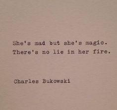Charles Bukowski Typewriter Quote by farmnflea on Etsy, $9.00