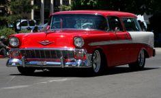 Panoramio - Photo of Reno, Virginia St; Car Parade, 1956 Chevy Bel ...