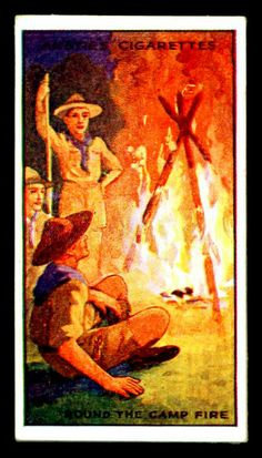 Cigarette Card - Scout Series #27 by cigcardpix, via Flickr