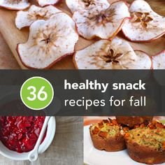Healthy & delicious ways to refuel for your next run—36 Healthy Snacks for Fall.