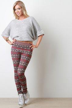 Fleece Leggings #leggings #fleeceleggings #homegoodsgalore