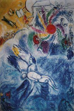 Marc CHAGALL : La création de l'homme, 1956-58