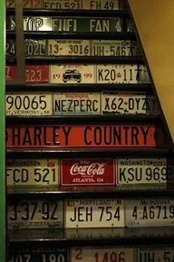 license plate craft projects - Google Search