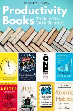 Work smarter not harder. With these best books on productivity, you'll find yourself getting more done in less time and with less stress. Find the best books for productivity and the best time management books on this must-read book list. #productivityhacks #productivitybooks Tea And Books, Book Club Books, Book Lists, Management Books, Good Time Management, Best Books To Read, Good Books, The 12 Week Year, Timothy Ferriss
