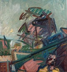 From the Studios, 1987, Frank Auerbach.