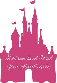 Disney Castle A Dream Is A Wish Your Heart by ALastingExpression, $31.95