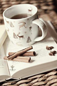 Good book, good coffee - perfect combo