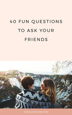 40 Fun Questions to Ask Your Friends Best Friend Questions, Truth Or Dare Questions, Deep Questions To Ask, Personal Questions, This Or That Questions, Bff Questions, Do You Know Me, Getting To Know You, Friend Friendship