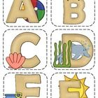 FREE from TpT!   Use these beach themed letters for your word wall in your beach themed classroom!...